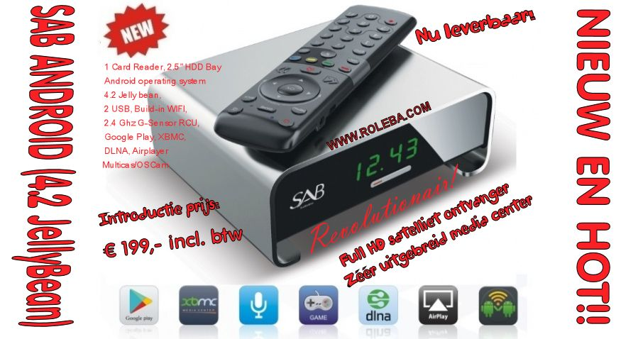 Sab Android XBMC Media Center